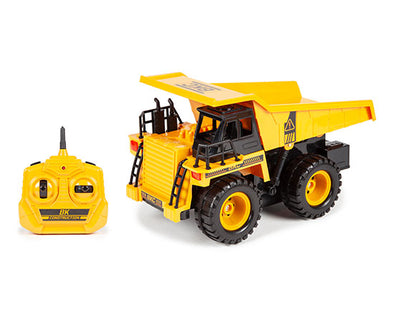 World Tech Toys Big Kid's Construction Motorized 1:24 RTR Electric RC Dump Truck