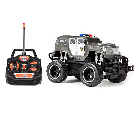 World Tech Toys S.W.A.T. 1:24 RTR Electric RC Monster Truck