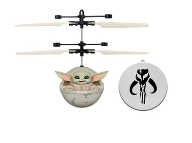 Star Wars The Mandalorian Baby Yoda RC Flying Heli Ball