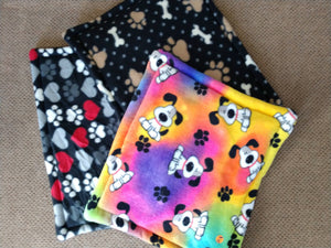 SMALL - Fleece Dog Mats