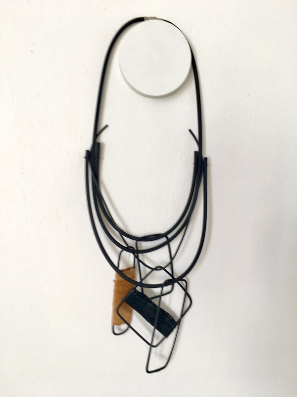 Marija Bajovska Multi Rectangle Necklace