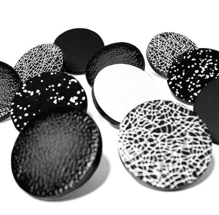 Sophie Terriere Leather Brooches
