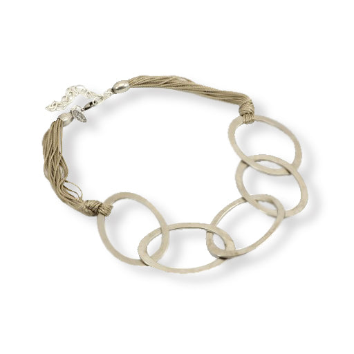 Carme Anglada Multi Loop Sting/Silver Necklace