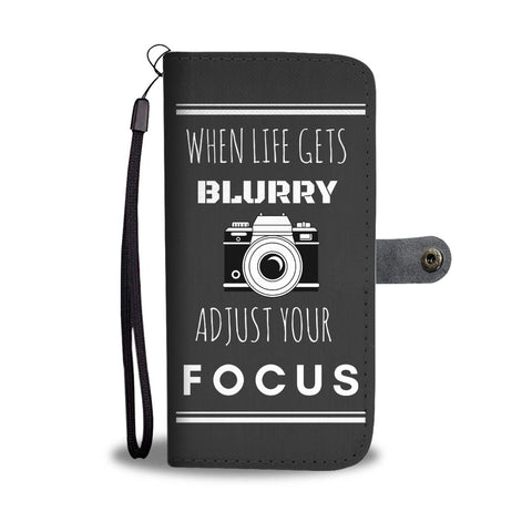 Adjust Your Focus Wallet Case