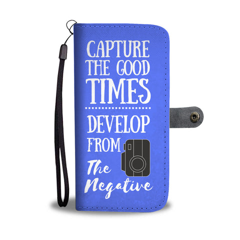 Capture The Good Times Wallet Case