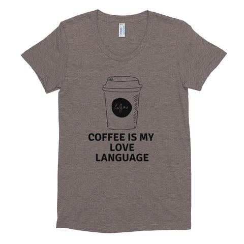 Coffee Women's Crew Neck T-shirt
