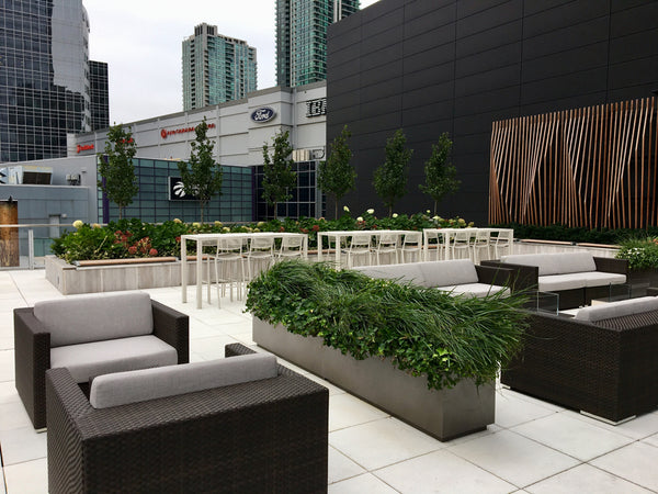 TELUS Hosting Centre Patio