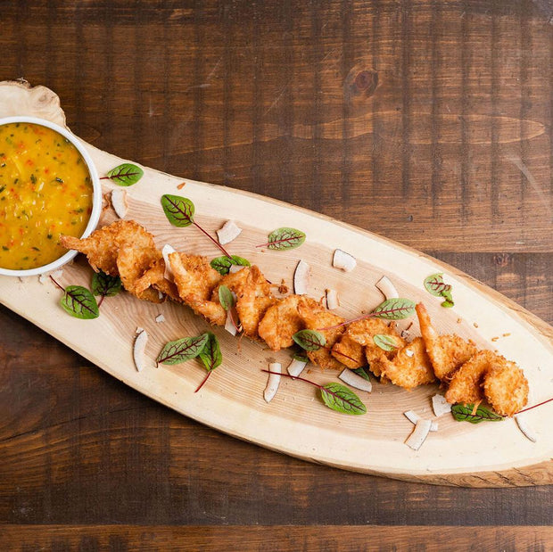 Coconut Shrimp with Mango Cilantro Salsa 8pieces 10tationHome
