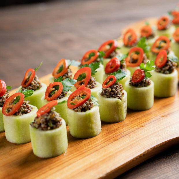 Cucumber Cups Hors D'Oeuvres 10tation