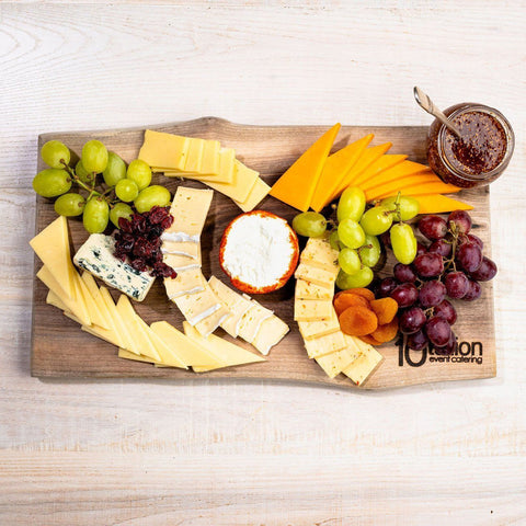 Domestic Cheese Garnished with Fruit Reception Platters 10tation