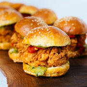 Fried Chicken Slider Hors D'Oeuvres 10tation