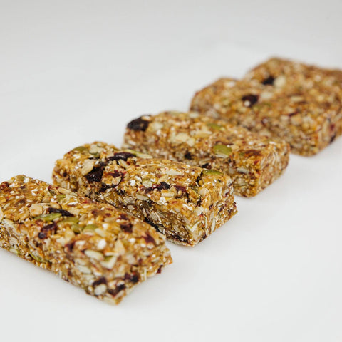 Homemade Seed Granola Bar order 10tationHome