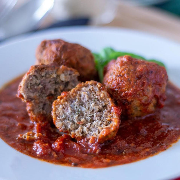 Italian Meatballs in Sugo serves04 10tationHome