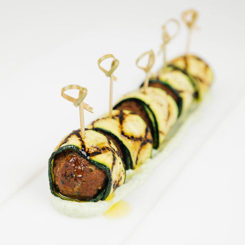 Lamb Wraps Hors D'Oeuvres 10tation
