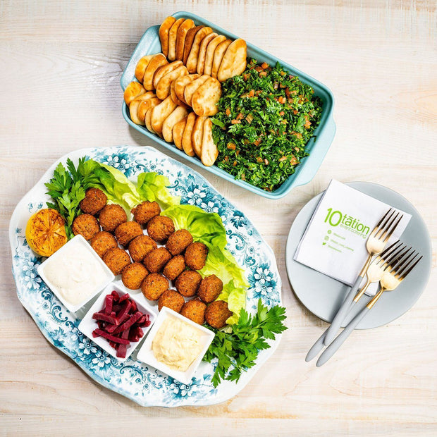 Middle Eastern Reception Platters 10tation