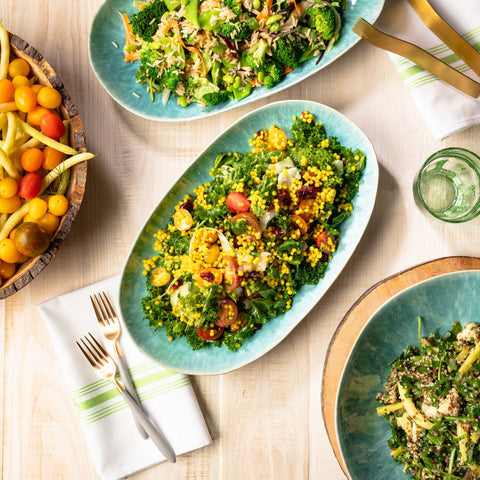 Saffron Israeli Couscous Lunch 10tation