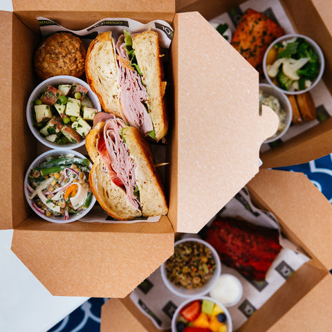 Sandwiches And Wraps Lunch 10tation