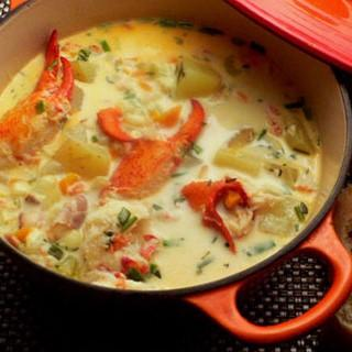 Seafood Chowder with PEI Lobster order 10tationHome