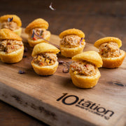 Southern Chicken Salad on Corn Bread Hors D'Oeuvres 10tation