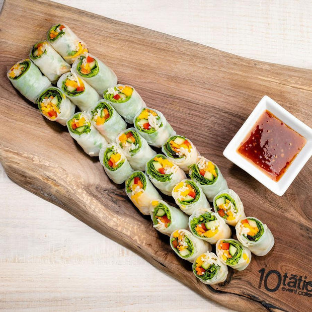 Thai Rolls Hors D'Oeuvres 10tation