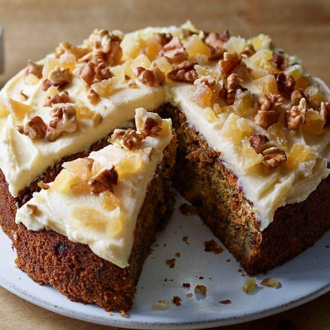 Walnut Carrot Cake order 10tationHome