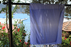 Illusion Turkish Bath Towel - hanging