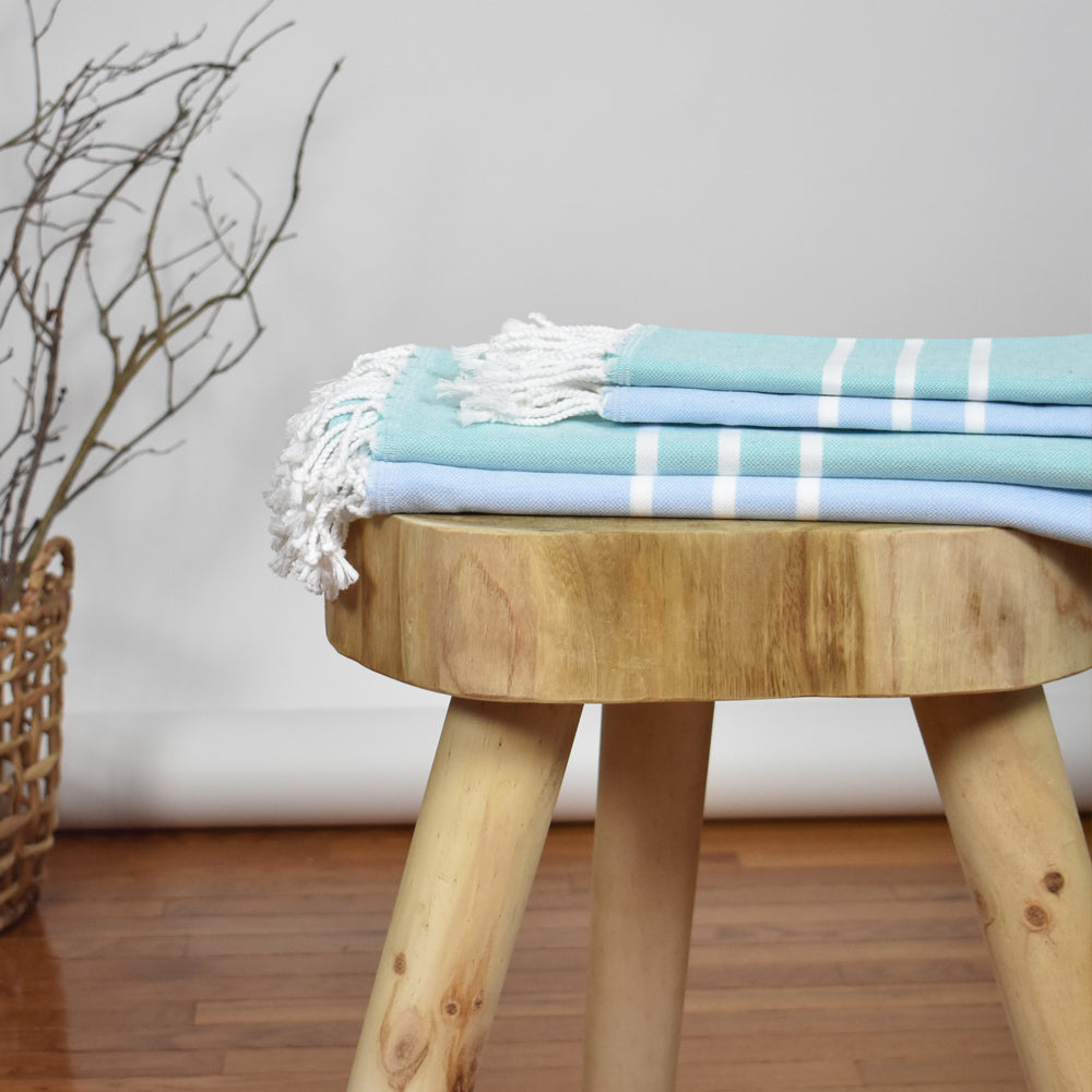 Teal Bath Towel – Antiochia Collection