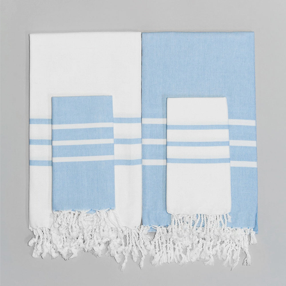 Light Blue Hand Towel – Antiochia Collection