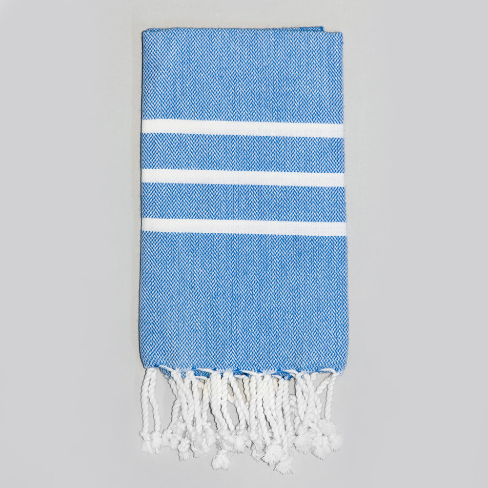 Royal Blue Hand Towel – Antiochia Collection