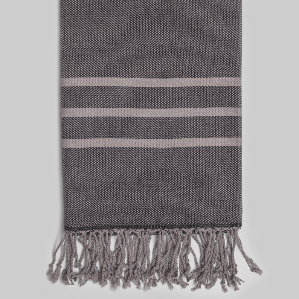 Dark Grey Bath Towel – Antiochia Grey Collection