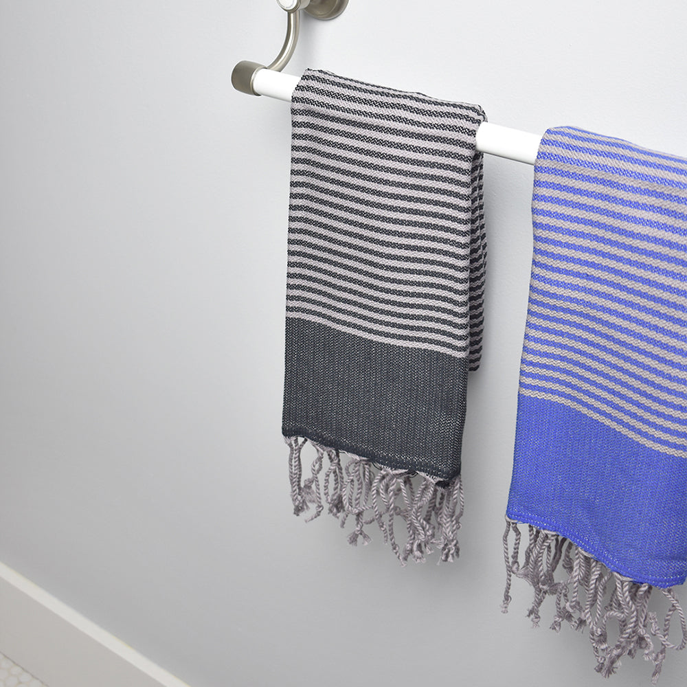 Dark Grey Hand Towel – Antiochia Grey Collection