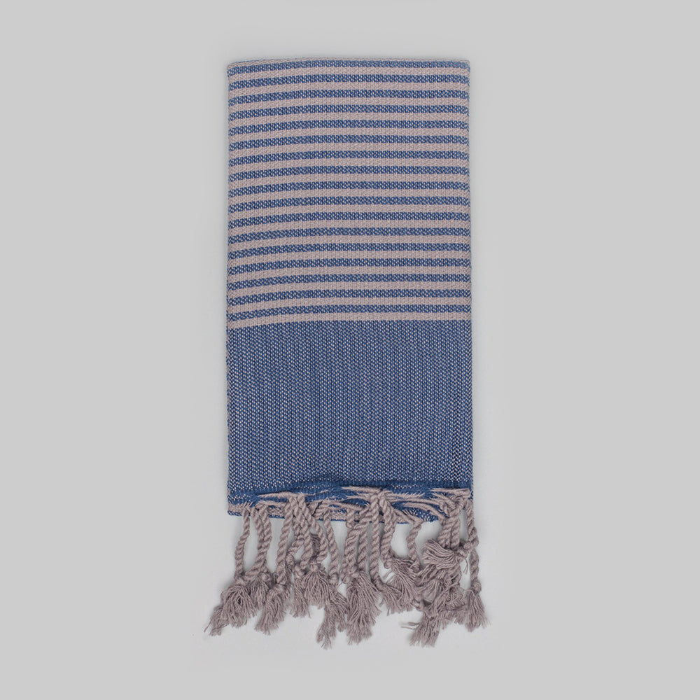 Navy Hand Towel – Antiochia Grey Collection