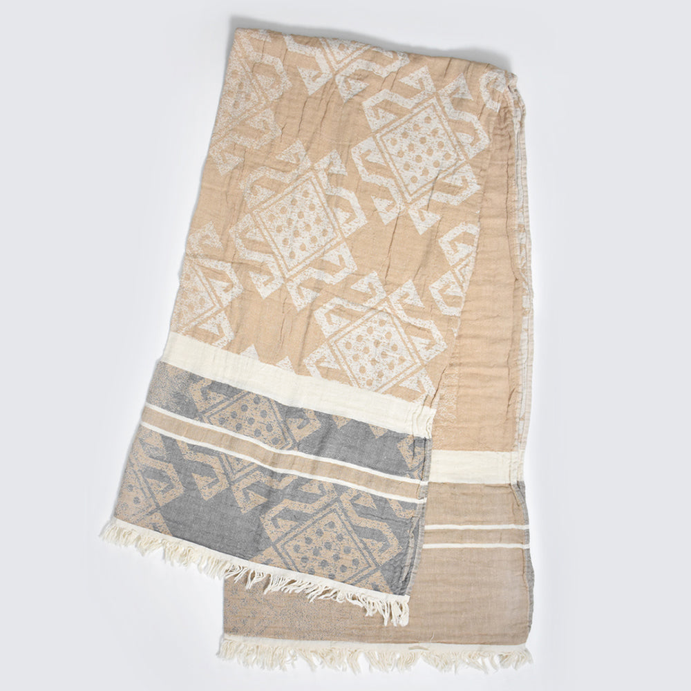 Beige Bath Towel – Arya Collection