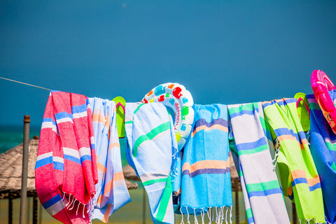 Knidos Collection Turkish Bath Towel collection