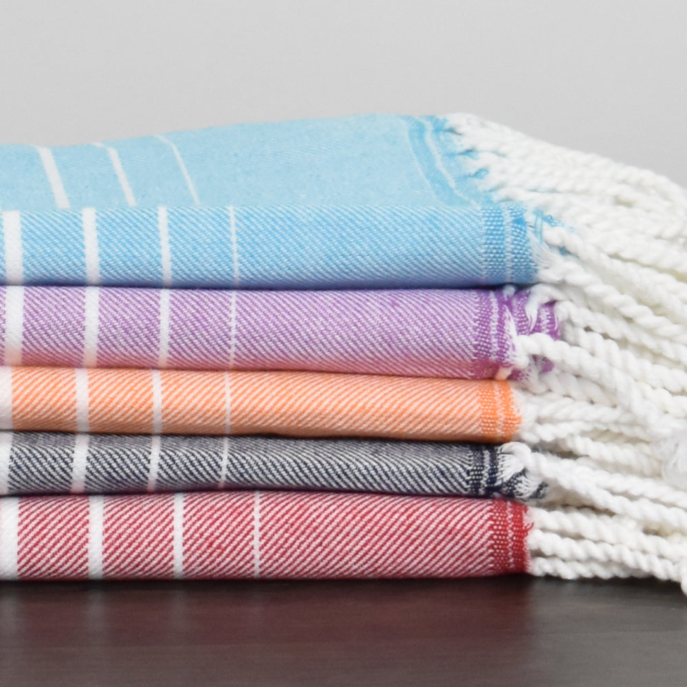 Turquoise Bath Towel – Illusion Collection