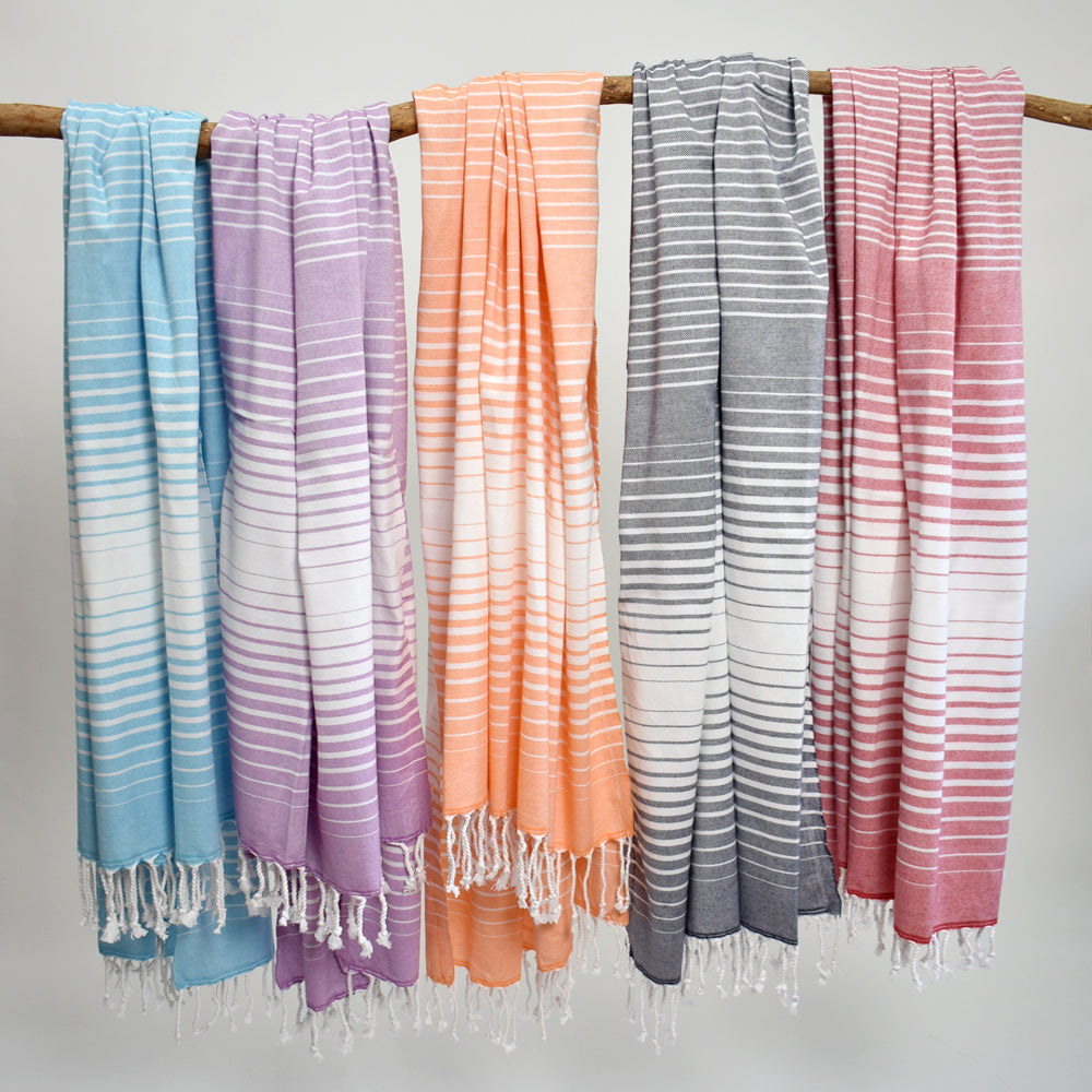 Orange Bath Towel – Illusion Collection