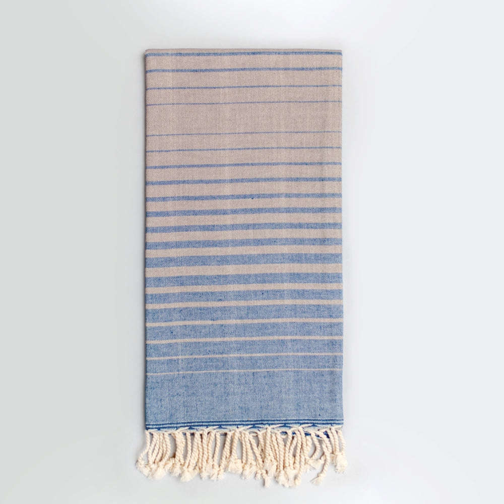 Navy & Grey Bath Towel – Illusion Collection