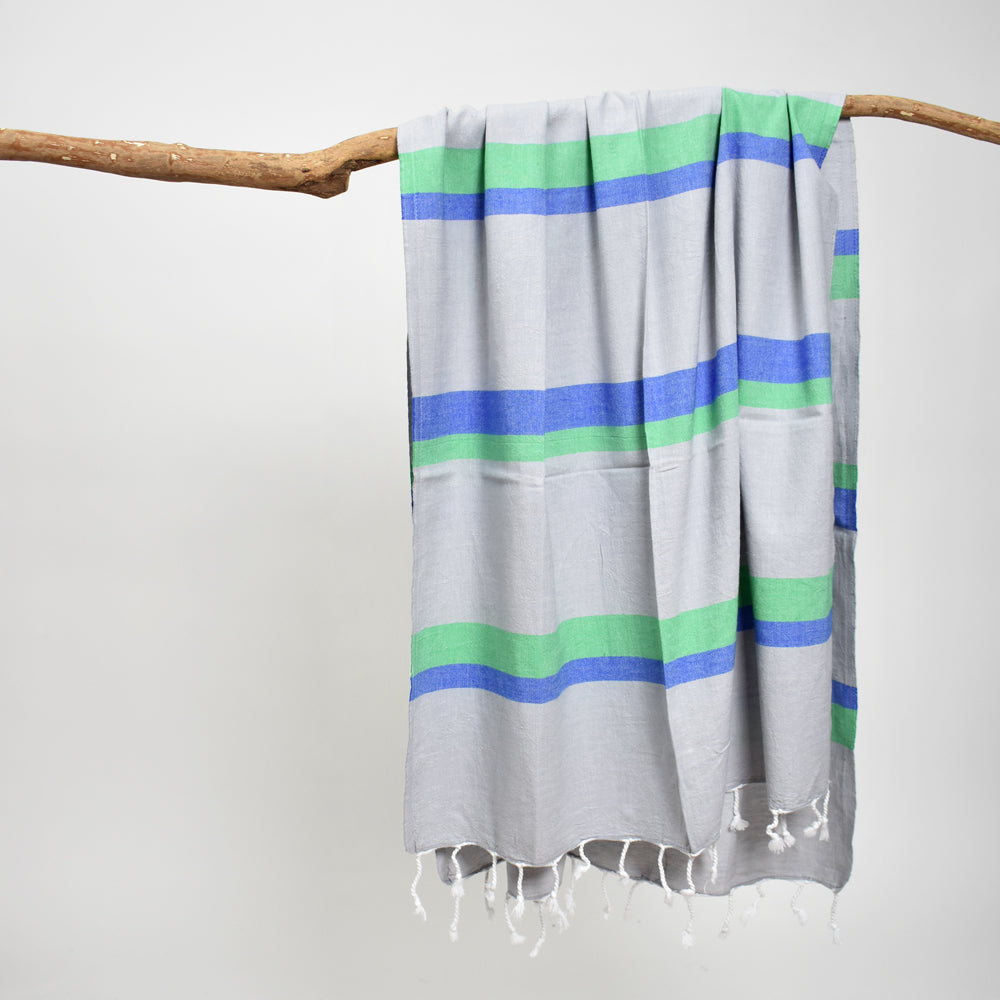 Grey Bath Towel – Knidos Collection