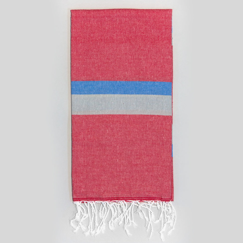 Red Bath Towel – Knidos Collection