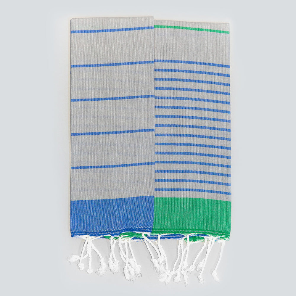 Grey Hand Towel – Knidos Collection