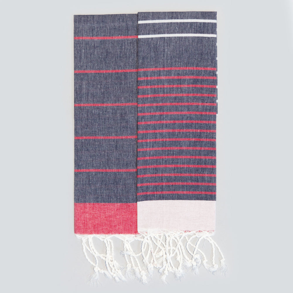 Navy Hand Towel – Knidos Collection