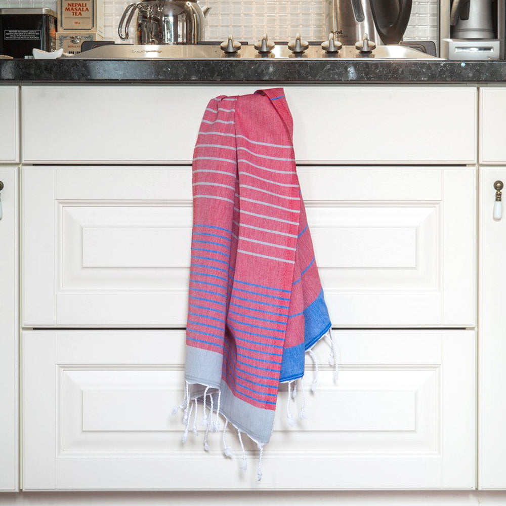 Red Hand Towel – Knidos Collection