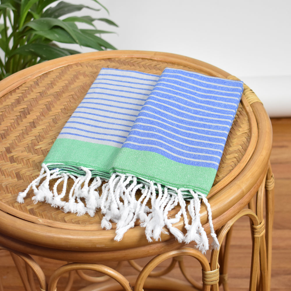 Royal Blue Hand Towel – Knidos Collection
