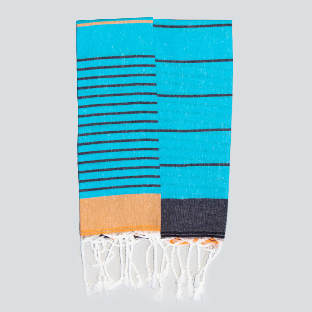 Turquoise Hand Towel – Knidos Collection