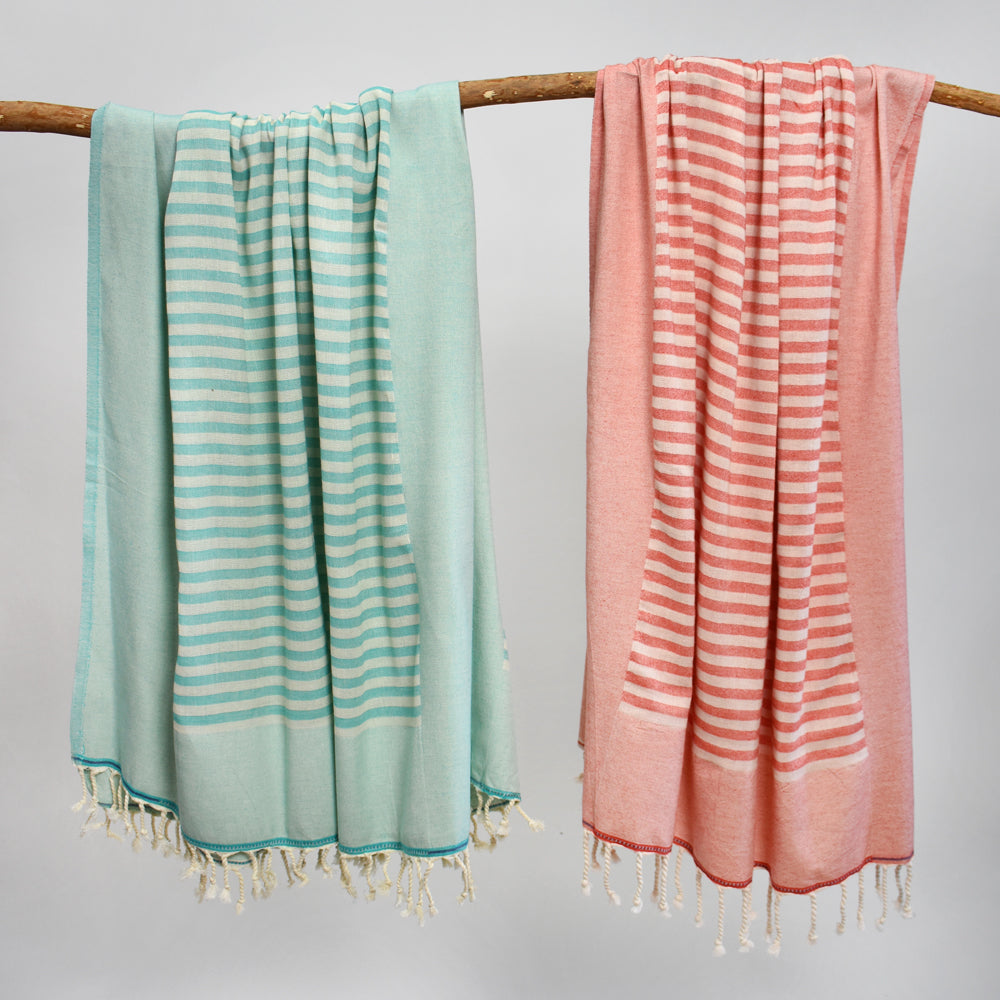 Teal Bath Towel – Lydia Collection
