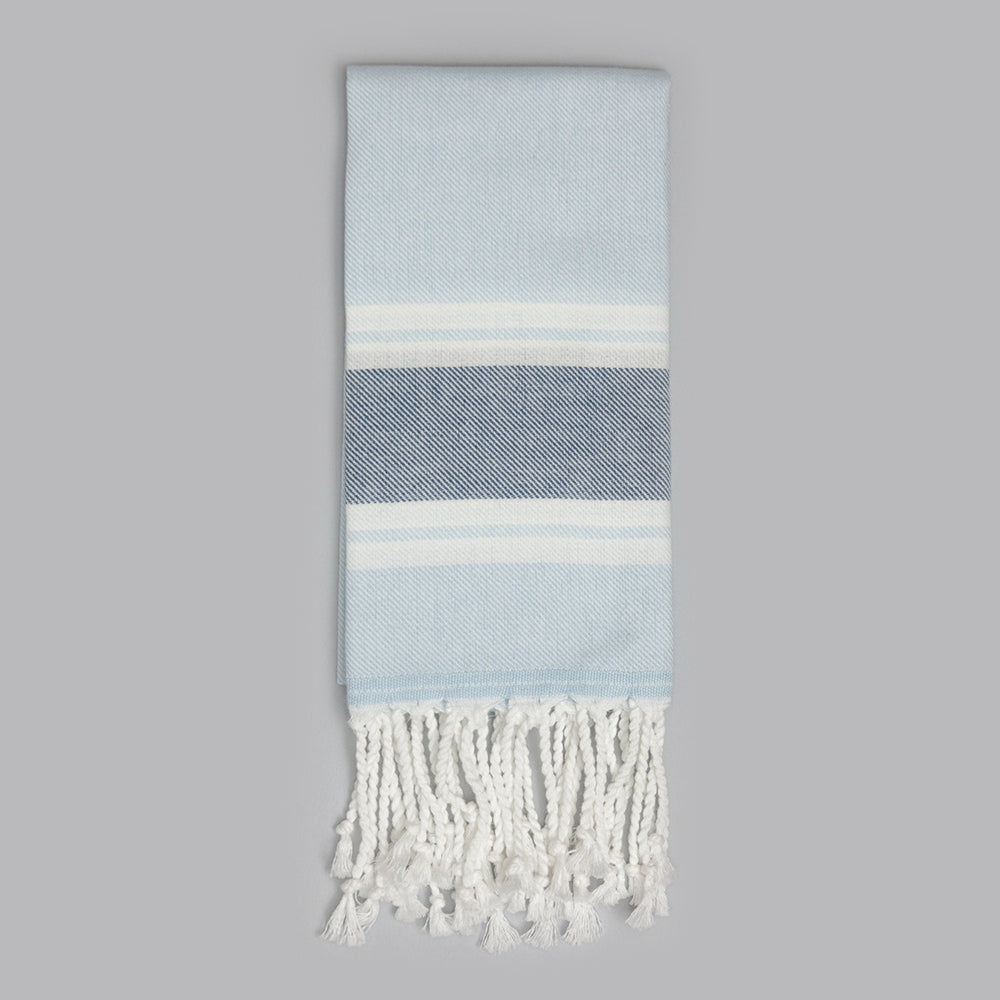 Light Blue Hand Towel – Myndos Collection