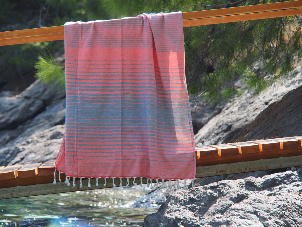 Illusion Turkish Bath Towel hanging
