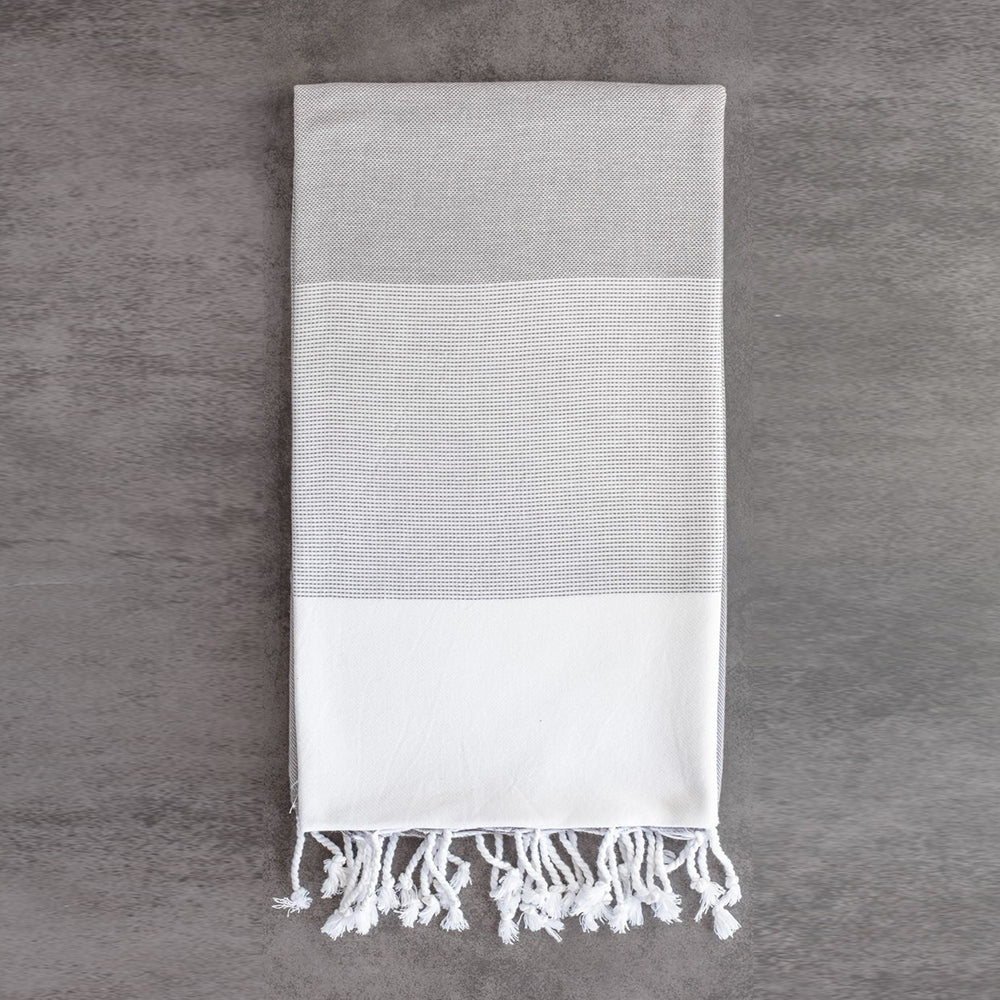 Grey Bath Towel – Ton-Sur-Ton Collection