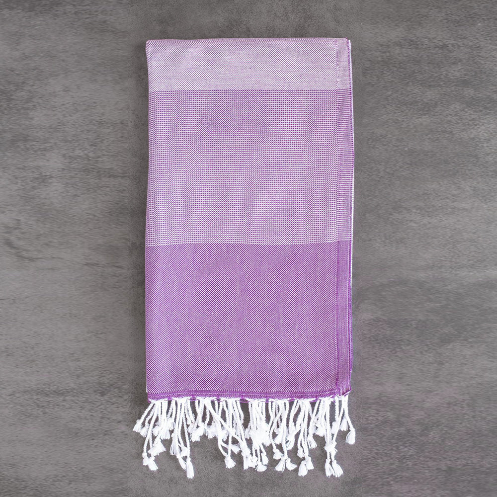 Purple Bath Towel – Ton-Sur-Ton Collection