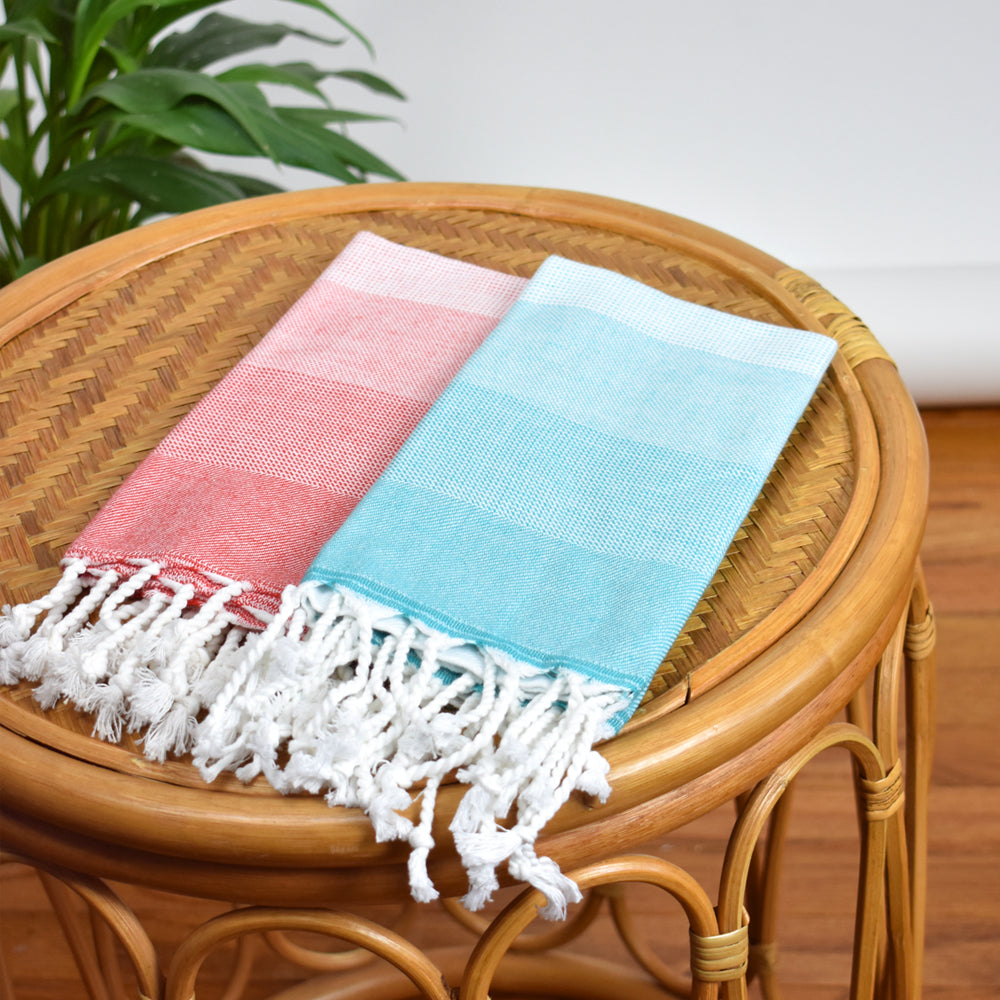 Coral Hand Towel – Ton-Sur-Ton Collection